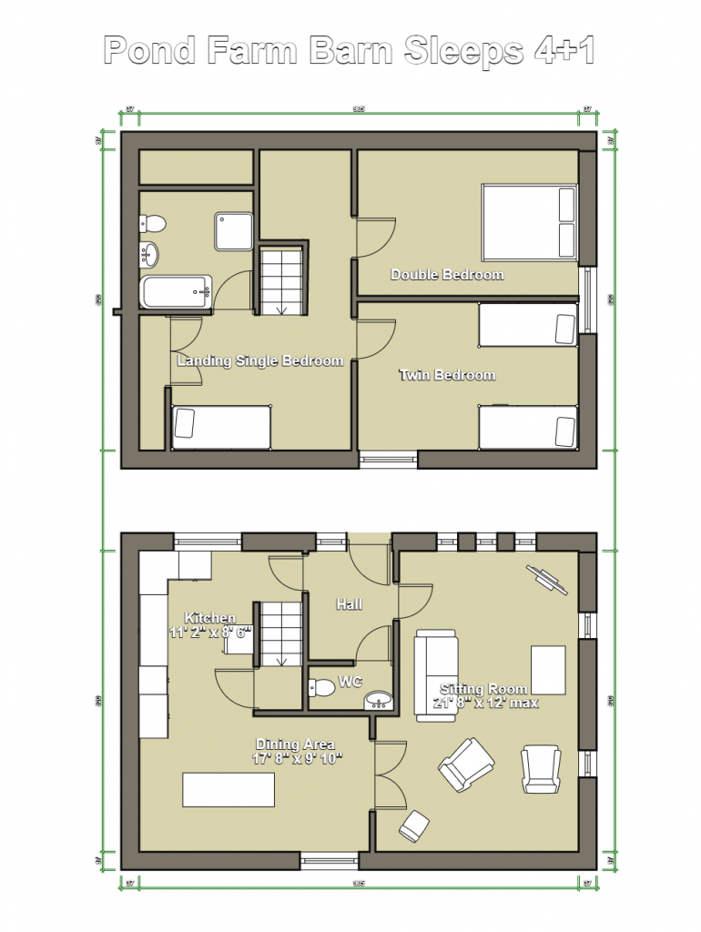 Pond Barn Floor Plan