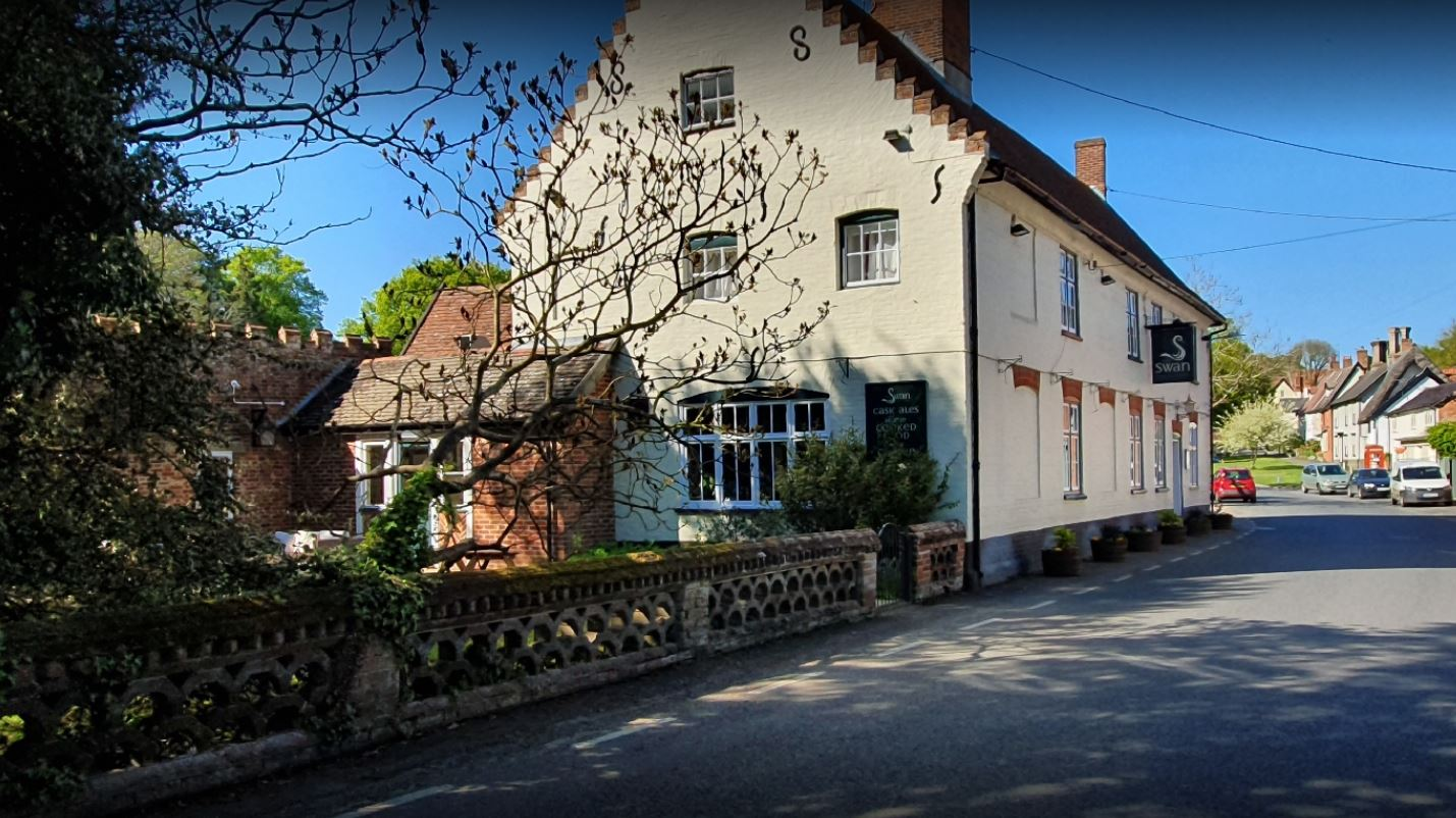 The Swan Pub at Hoxne